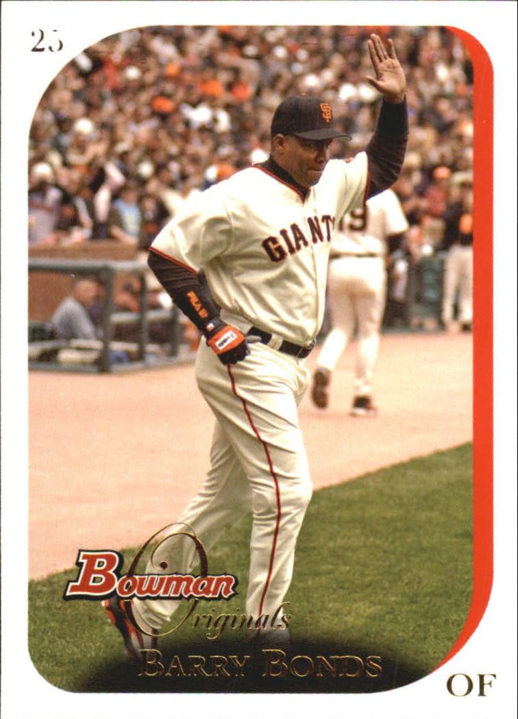2006 Bowman Originals #25 Barry Bonds