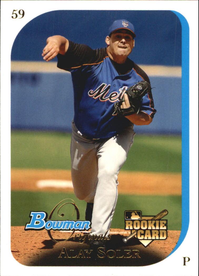 2006 Bowman Originals #54 Alay Soler RC