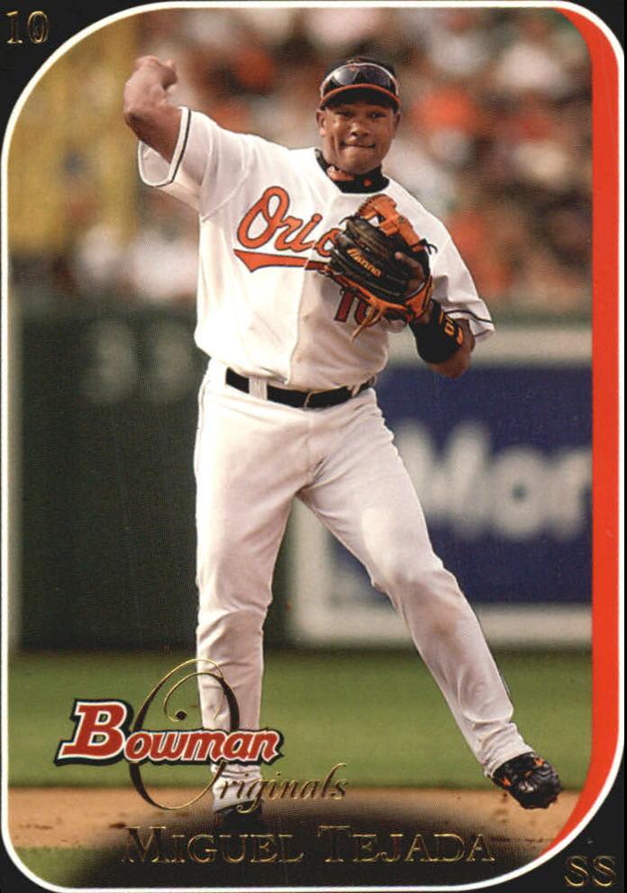 2006 Bowman Originals Black #11 Miguel Tejada