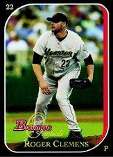 2006 Bowman Originals Black #22 Roger Clemens