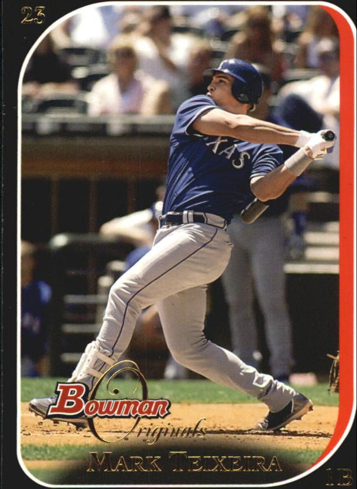 2006 Bowman Originals Black #23 Mark Teixeira