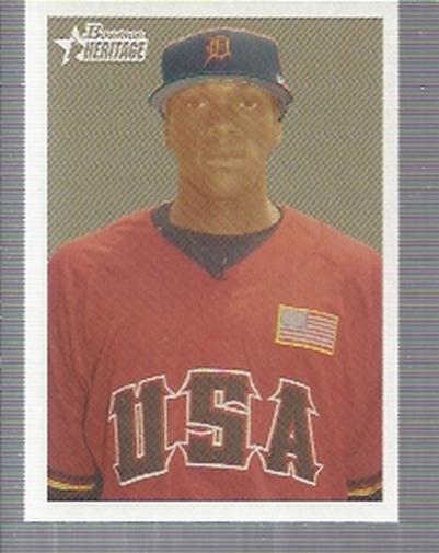 2006 Bowman Heritage Prospects #4 Cameron Maybin