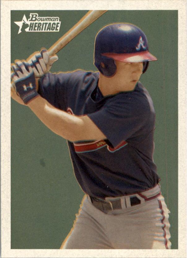 2006 Bowman Heritage Prospects #65 Adam Coe