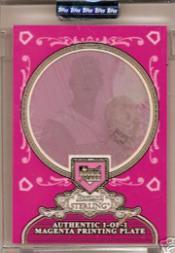 2006 Bowman Sterling Encased Printing Plates Magenta #JS James Shields