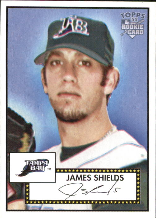 2006 Topps 52 #29 James Shields RC