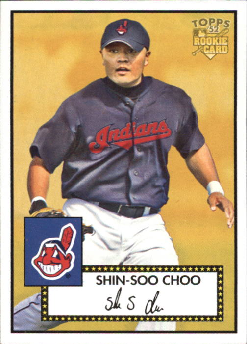 2006 Topps 52 #227 Shin-Soo Choo (RC)