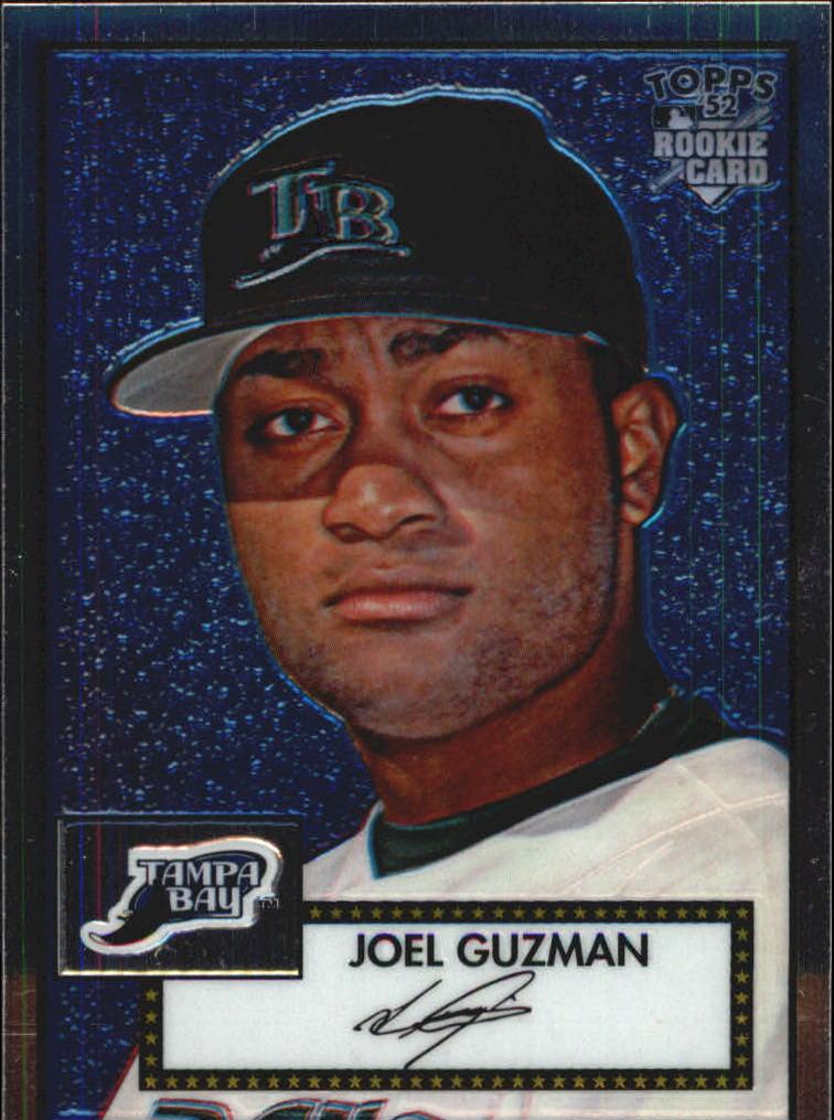 2006 Topps 52 Chrome #42 Joel Guzman