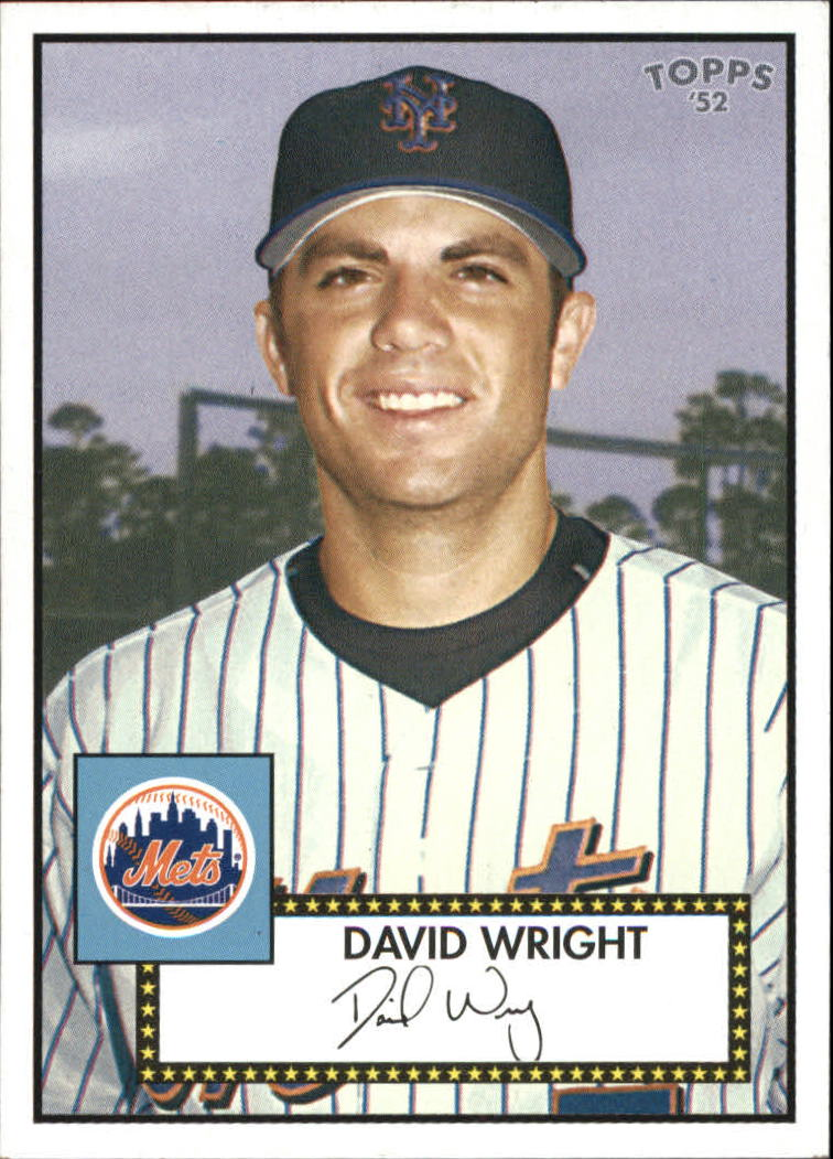 2006 Topps '52 Debut Flashbacks #DF12 David Wright