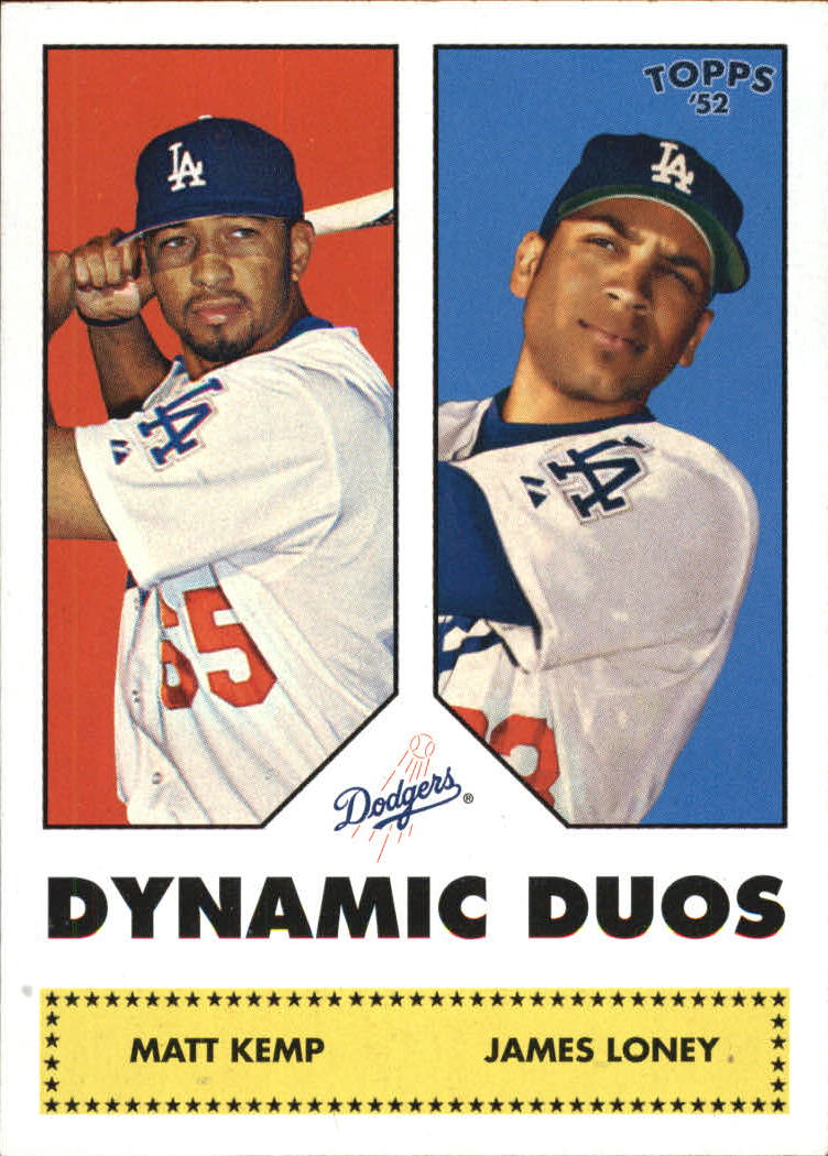 2006 Topps 52 Dynamic Duos #DD12 Matt Kemp/James Loney