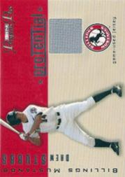 2006 TRISTAR Prospects Plus ProTential Game Used 250 #DS Drew Stubbs Jsy