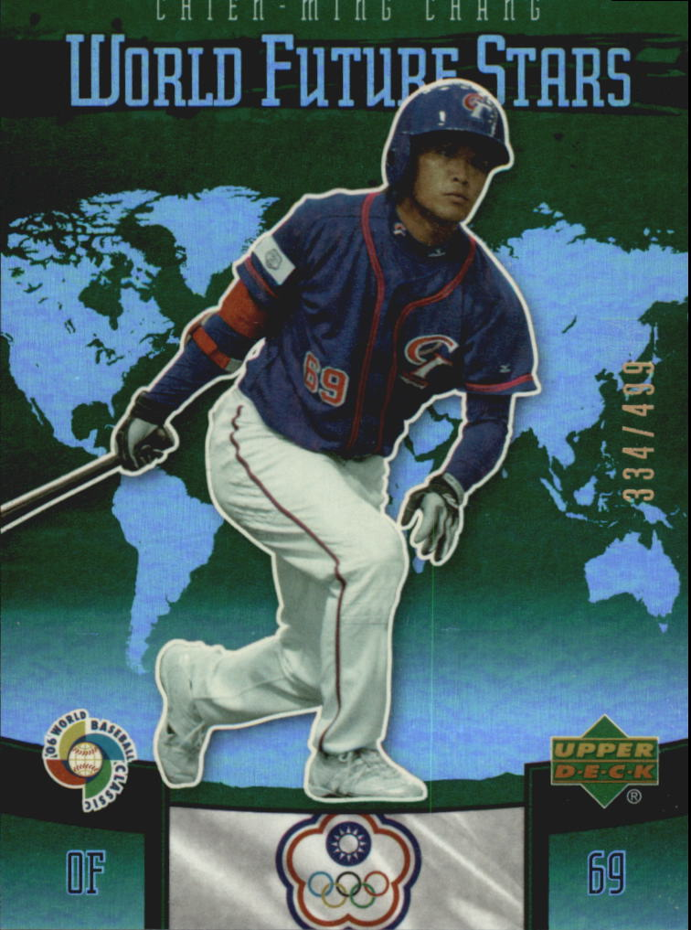2006 Upper Deck Future Stars World Future Stars Green #4 Chien-Ming Chang