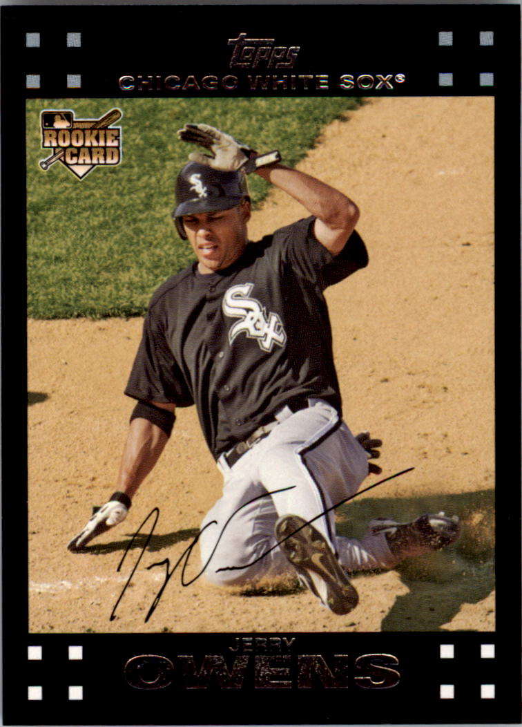 2007 Topps #284 Jerry Owens (RC)