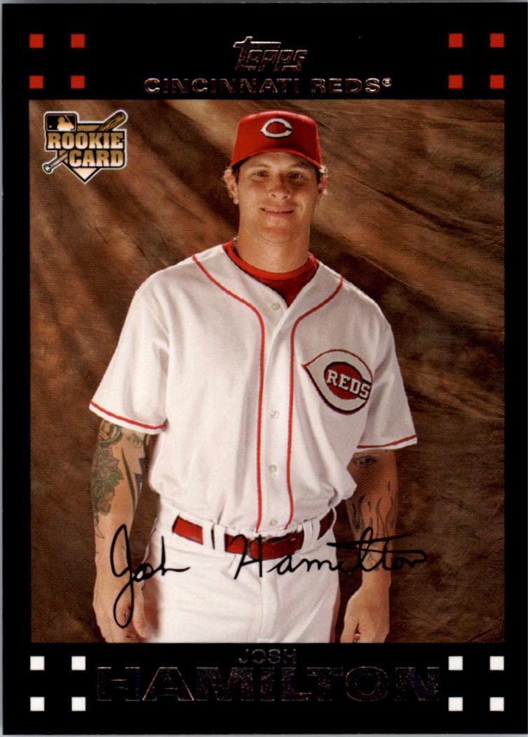 2007 Topps #625 Josh Hamilton (RC)