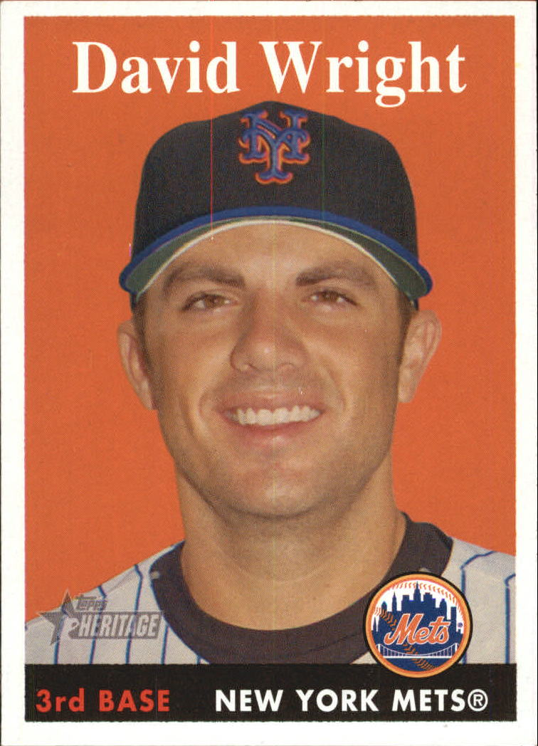 2007 Topps Heritage #92a David Wright