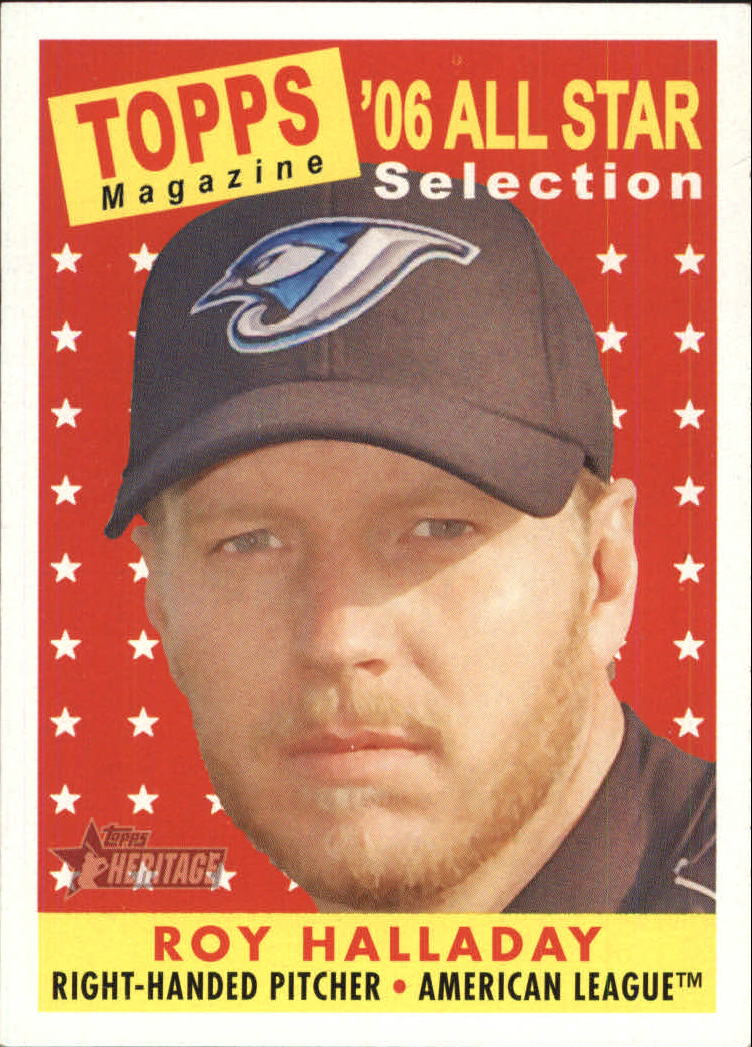 2007 Topps Heritage #493 Roy Halladay AS