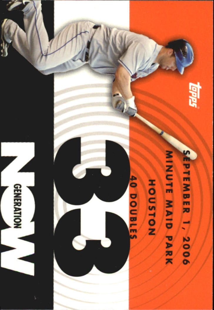 2007 Topps Generation Now #GN179 David Wright
