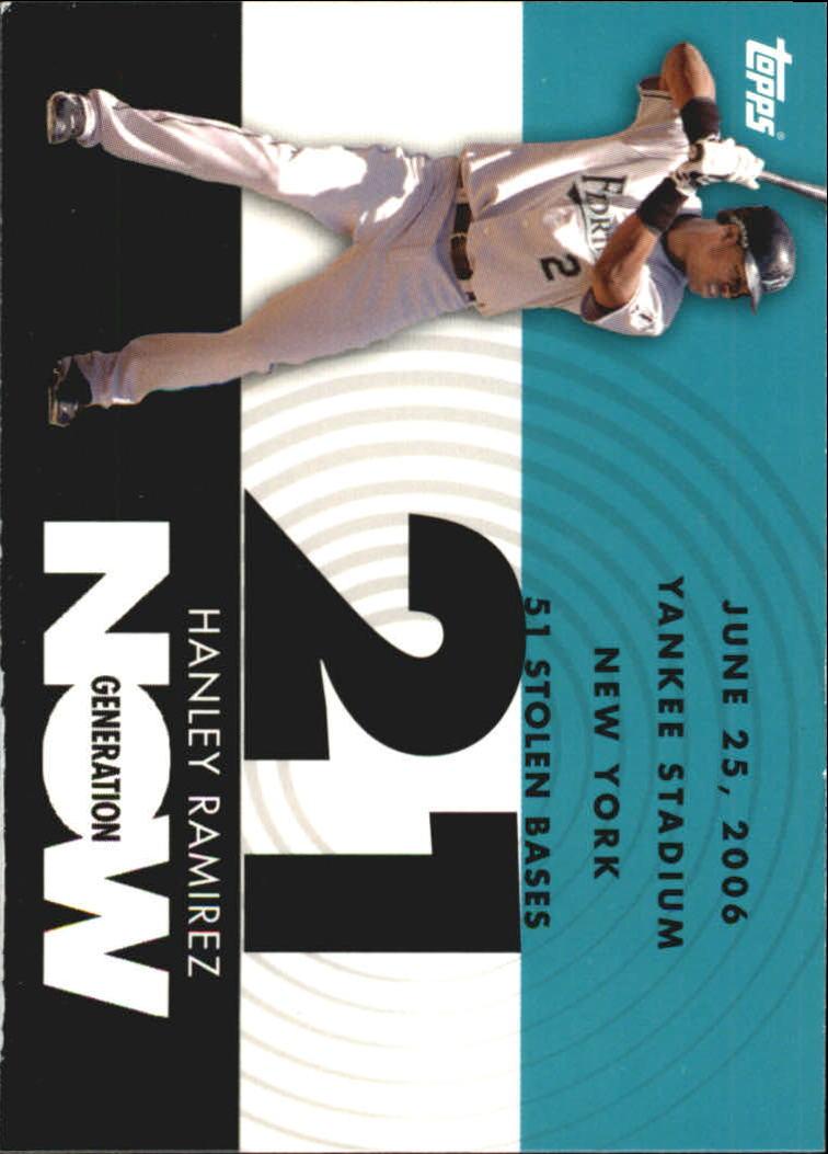 2007 Topps Generation Now #GN319 Hanley Ramirez