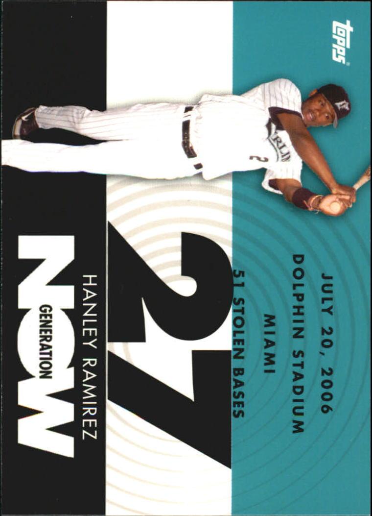 2007 Topps Generation Now #GN325 Hanley Ramirez