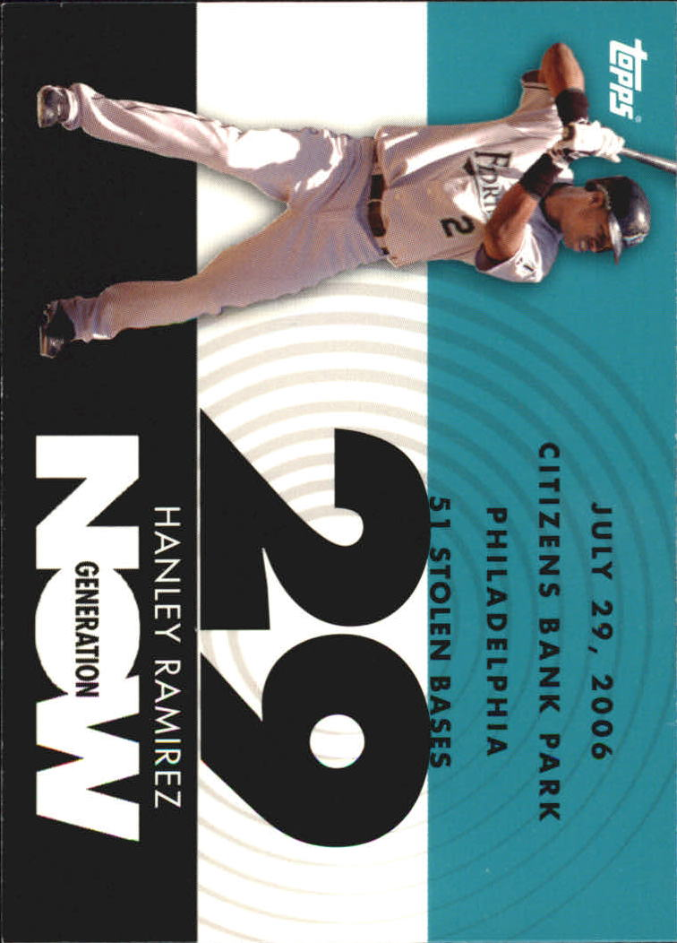 2007 Topps Generation Now #GN327 Hanley Ramirez