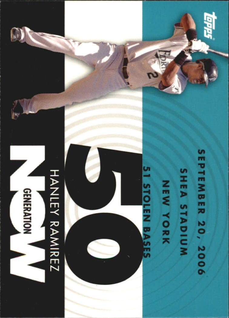2007 Topps Generation Now #GN348 Hanley Ramirez