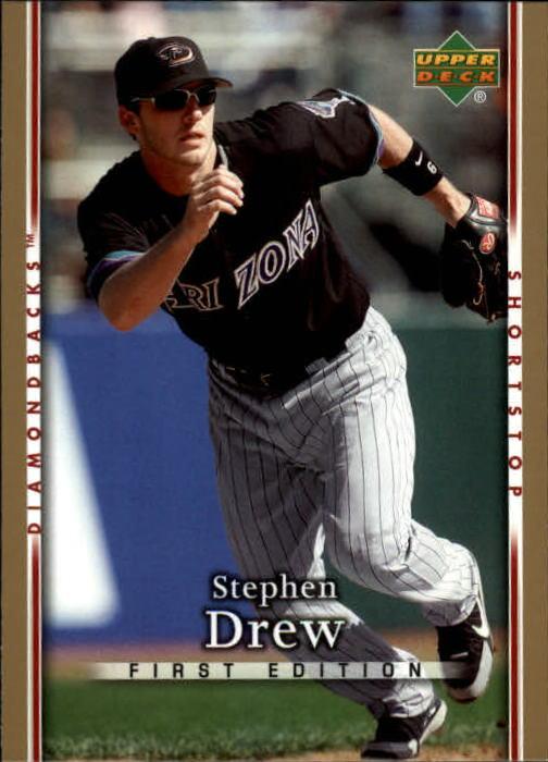 2007 Upper Deck First Edition #168 Stephen Drew