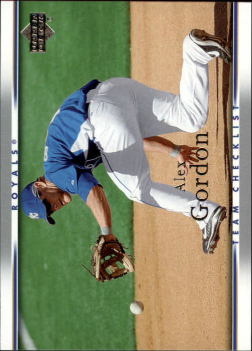 2007 Upper Deck #750 Alex Gordon CL