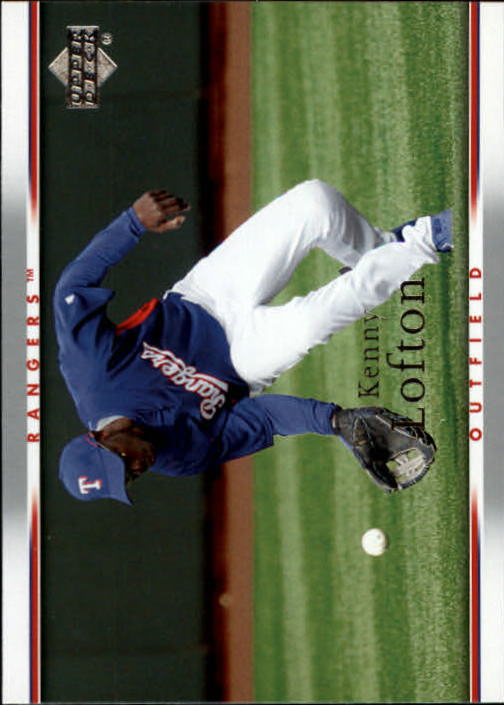 2007 Upper Deck #986 Kenny Lofton