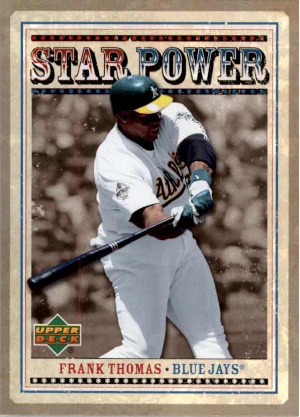 2007 Upper Deck Star Power #FT Frank Thomas