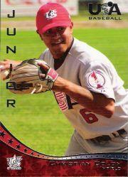 2006-07 USA Baseball #40 Christian Colon