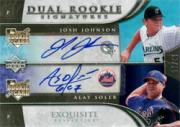 2006 Exquisite Collection #85 Soler RC/Johnson (RC)