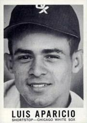 1960 Leaf Full Face #1 Luis Aparicio