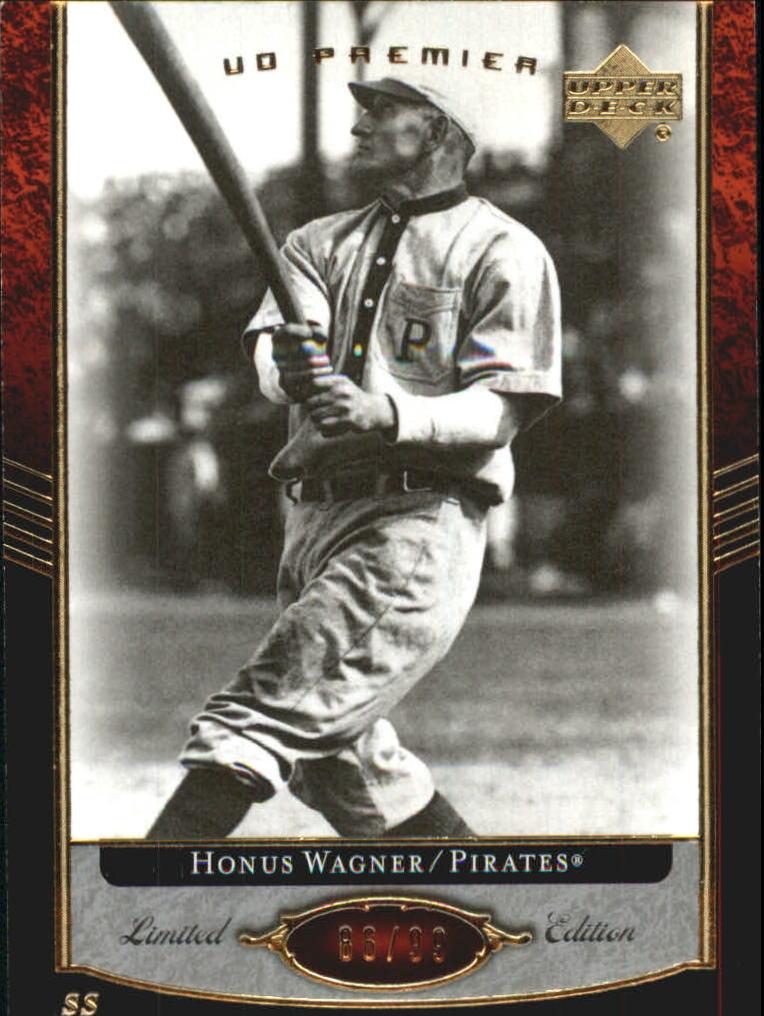 2007 Upper Deck Premier #20 Honus Wagner