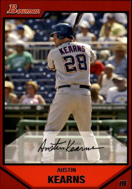 2007 Bowman #43 Austin Kearns