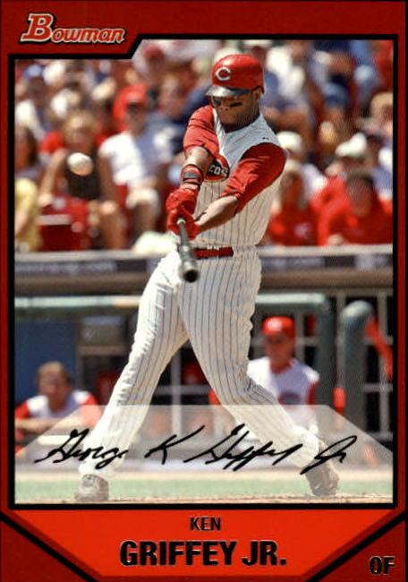 2007 Bowman #85 Ken Griffey Jr