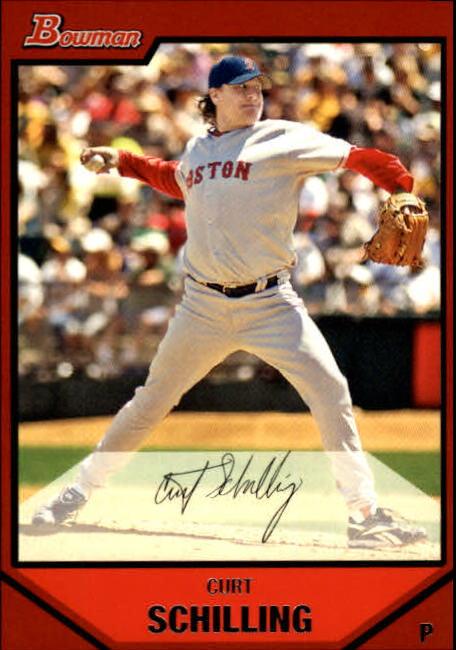 2007 Bowman #134 Curt Schilling