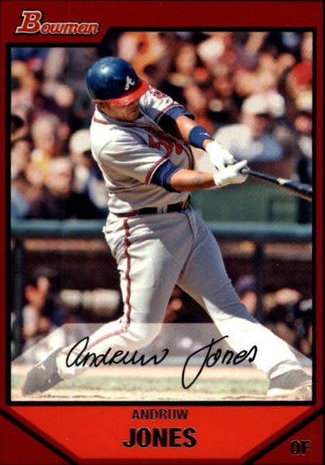 2007 Bowman #190 Andruw Jones