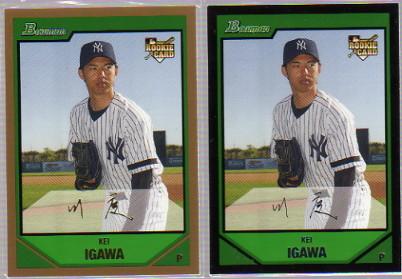 2007 Bowman #213 Kei Igawa RC