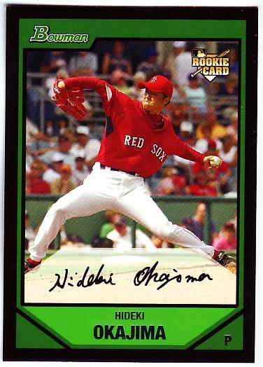 2007 Bowman #219 Hideki Okajima RC
