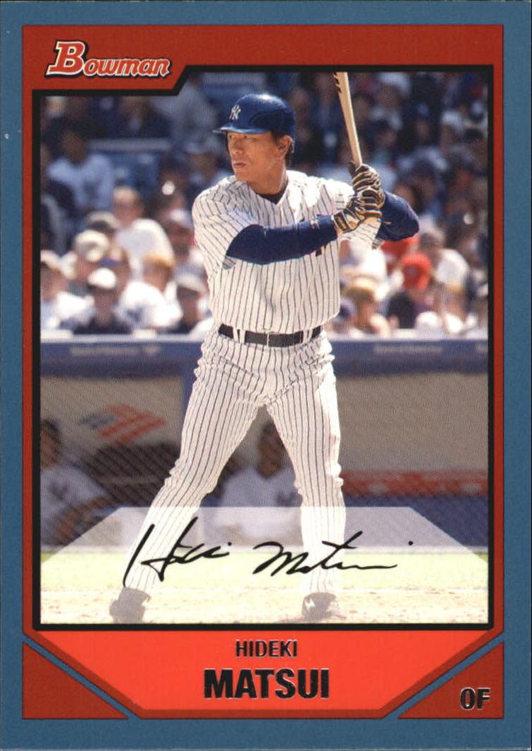 2007 Bowman Blue #119 Hideki Matsui