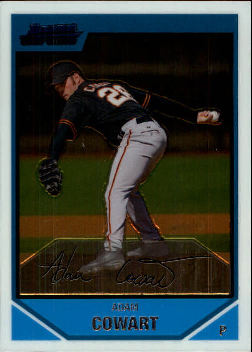 2007 Bowman Chrome Prospects #BC188 Adam Cowart