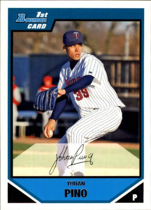 2007 Bowman Prospects #BP24 Yohan Pino
