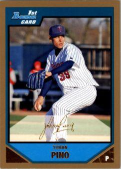 2007 Bowman Prospects Gold #BP24 Yohan Pino