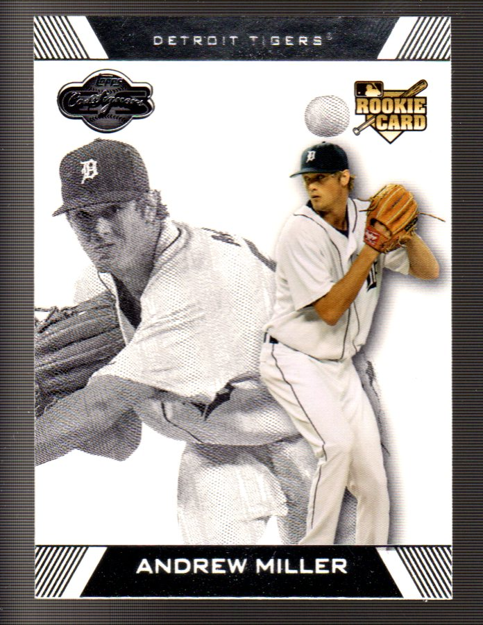 2007 Topps Co-Signers #100a Andrew Miller RC