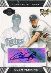 2007 Topps Co-Signers #117 Glen Perkins AU (RC)