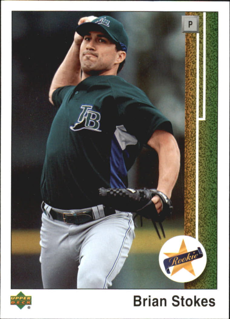 2007 Upper Deck 1989 Rookie Reprints #ST Brian Stokes
