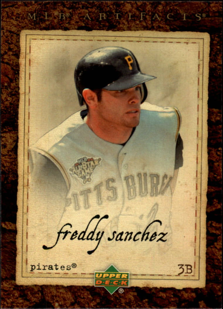 2007 Artifacts #61 Freddy Sanchez