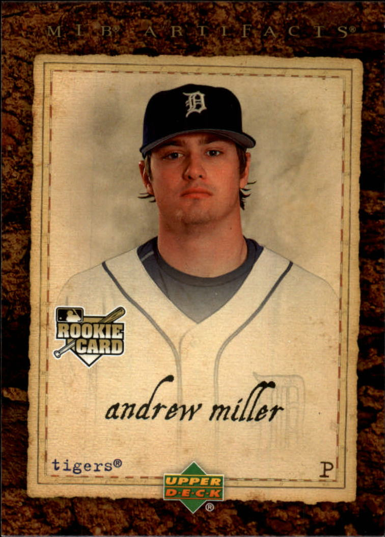 2007 Artifacts #72 Andrew Miller RC