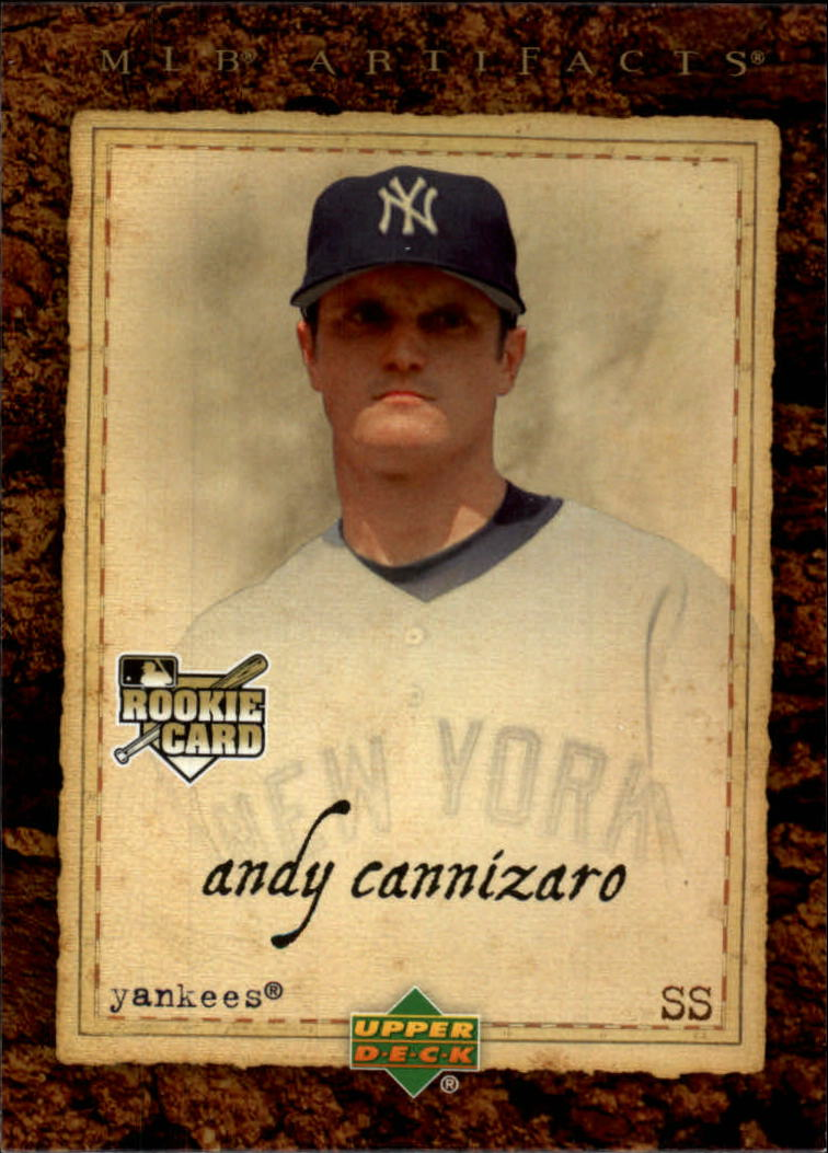 2007 Artifacts #73 Andy Cannizaro RC
