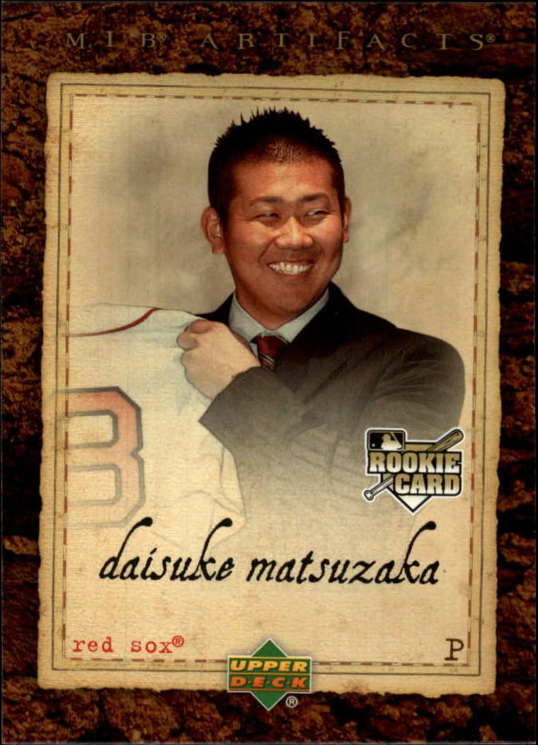 2007 Artifacts #77 Daisuke Matsuzaka RC