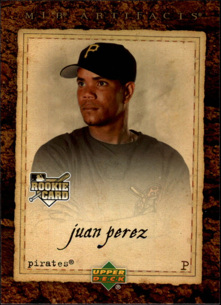 2007 Artifacts #87 Juan Perez RC